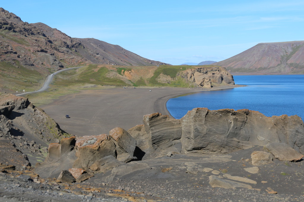 Kleifarvatn. The biggest lake in Reykjanes.